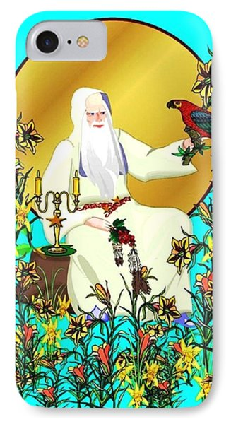 Wizard's Garden IPhone Case by Mary Anne Ritchie
