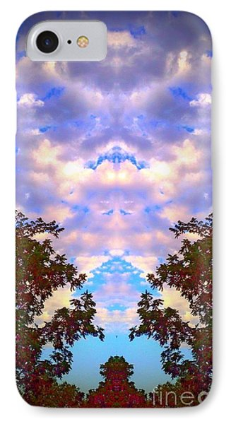 Wizards In The Clouds IPhone Case by Karen Newell