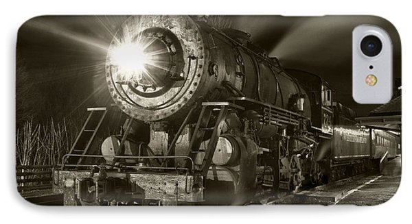 Wmsr Engine 734 At The Frostburg Depot IPhone Case