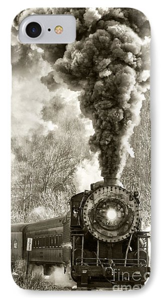 Wmsr Steam Engine 734 IPhone Case