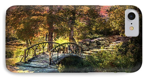 Woddard Park Bridge II IPhone Case by Tamyra Ayles