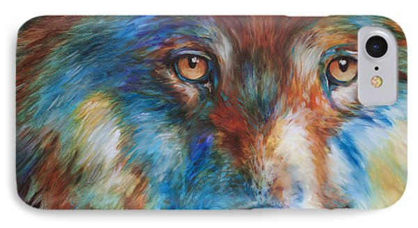 Wolf Abstract 3618 IPhone Case