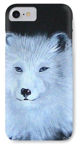Wolf IPhone Case by Catherine Swerediuk