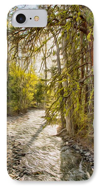 Wolf Creek Afternoon Light Phone Case by Omaste Witkowski
