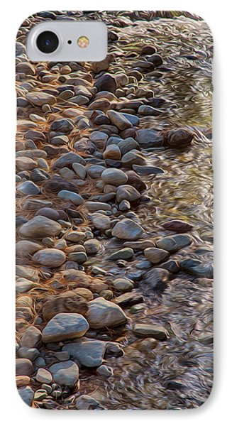 Wolf Creek Upstream Phone Case by Omaste Witkowski