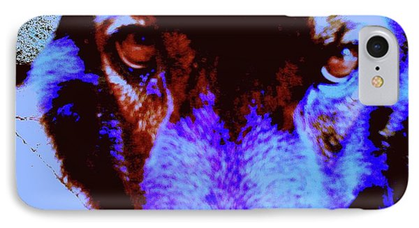 Wolf Eyes Phone Case by Nina Kaye