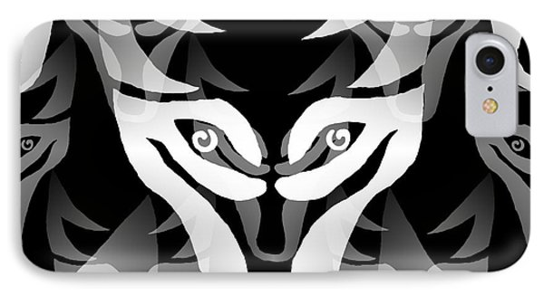 Wolf Mask IPhone Case