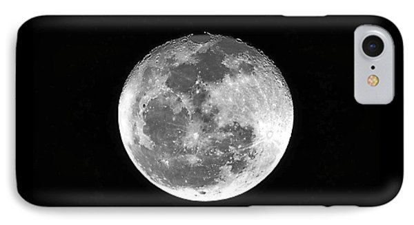 Wolf Moon Waning Phone Case by Al Powell Photography USA