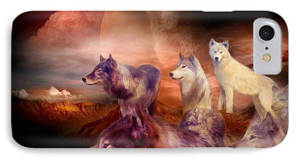 Wolf Mountain IPhone Case by Carol Cavalaris