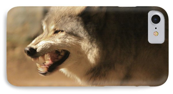 Wolf Power IPhone Case by Kate Purdy