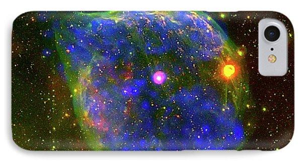 Wolf-rayet Bubble IPhone Case by European Space Agency/iaa-csic/uiuc/crya-unam/noao/ctio/nasa/gsfc/iam
