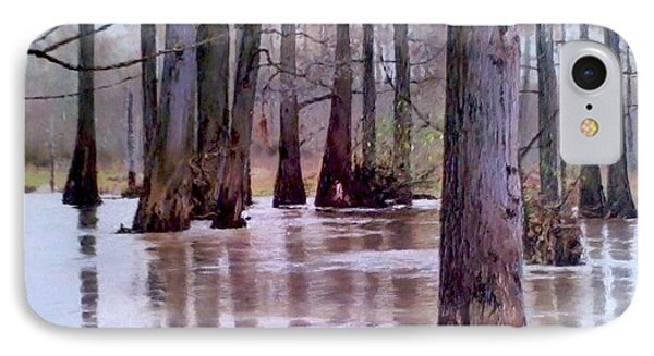 Wolf River Near Moscow Tennessee IPhone Case by Mike DeWitt