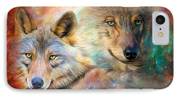 Wolf - Spirit Of The Universe IPhone Case