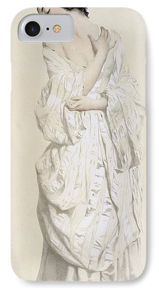 Woman In A Dressing Gown IPhone Case by French School