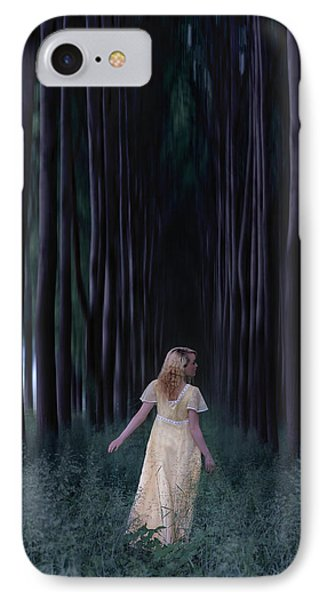Woman In Forest Phone Case by Joana Kruse