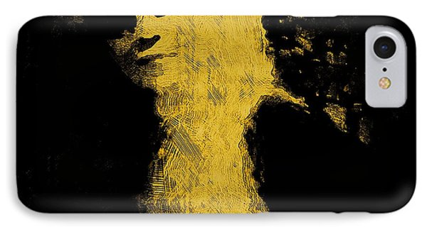 Woman In The Dark Phone Case by Pepita Selles