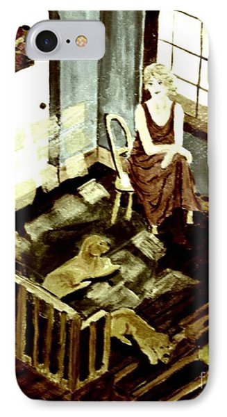 Woman In The Window IPhone Case