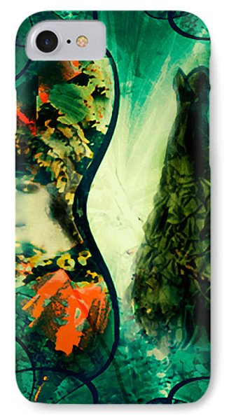Green Mystery Montage IPhone Case