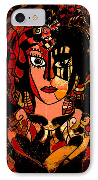Woman Of Mystery Phone Case by Natalie Holland