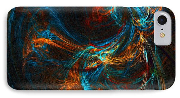IPhone Case featuring the digital art Woman Of Spirit by R Thomas Brass