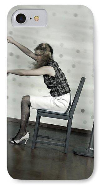 Woman With Fan Phone Case by Joana Kruse