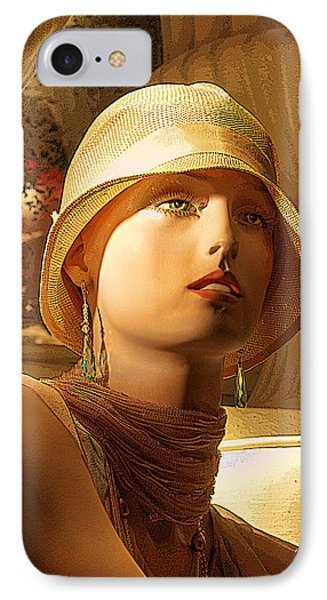 Woman With Hat - Chuck Staley IPhone Case