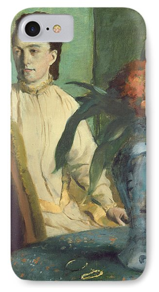 Woman With The Oriental Vase IPhone Case