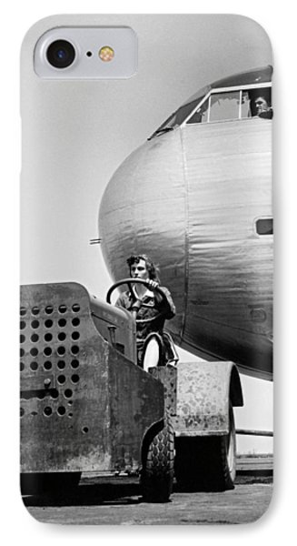 Woman Worker During World War Two IPhone Case