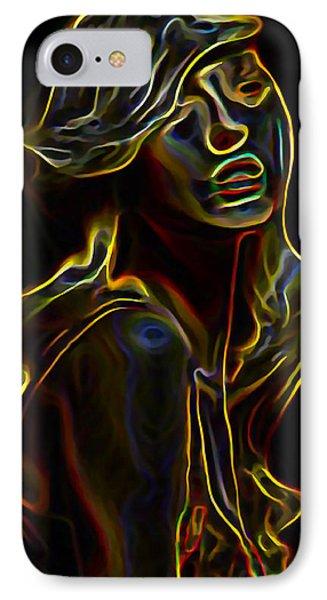Womans Essence 23 IPhone Case by  Fli Art