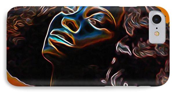 Womans Essence II              IPhone Case by  Fli Art