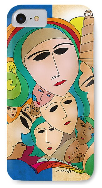 Women From Mesopotamia IPhone Case