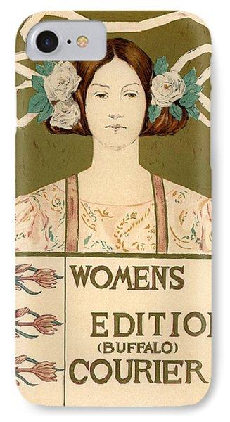Women's Edition Buffalo Courier Phone Case by Gianfranco Weiss