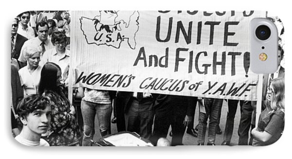Women's Liberation Gathering IPhone Case by Underwood Archives