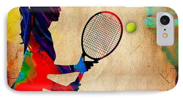 Womens Tennis IPhone Case