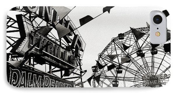 Wonder Wheel IPhone Case by Madeline Ellis