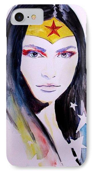 Wonder Woman IPhone Case by Lauren Anne