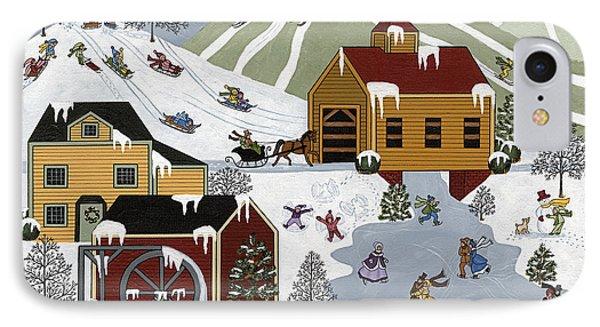 Wonderful Winter Phone Case by Medana Gabbard