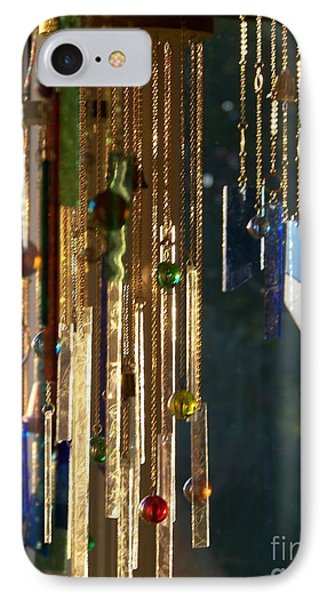 IPhone Case featuring the glass art Wonderland by Jackie Mueller-Jones
