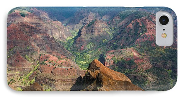Wonders Of Waimea IPhone Case by Suzanne Luft