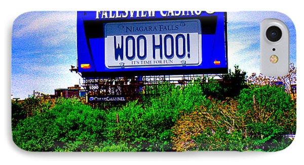 Woo Hoo Phone Case by Nina Silver