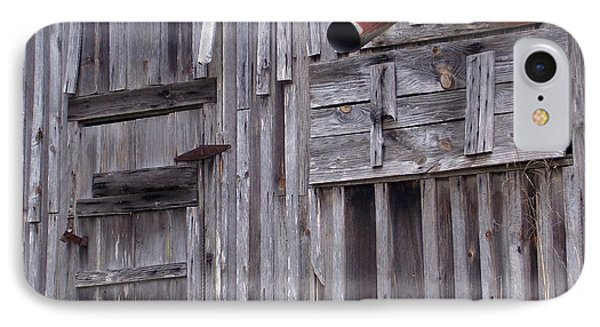 IPhone Case featuring the photograph Wood And Rust by John Glass