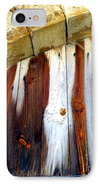 Wood And Stone Phone Case by Lauren Leigh Hunter Fine Art Photography