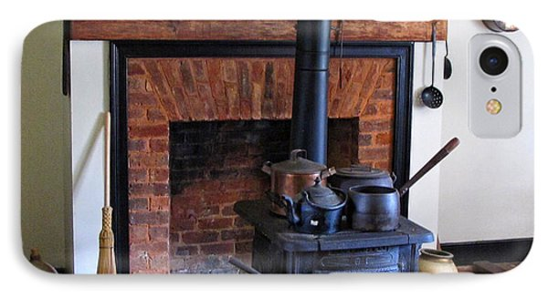 Wood Burning Stove Phone Case by Dave Mills