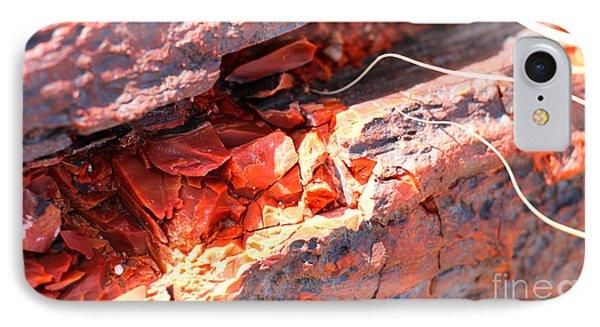 Wood Chips IPhone Case by Shawn MacMeekin