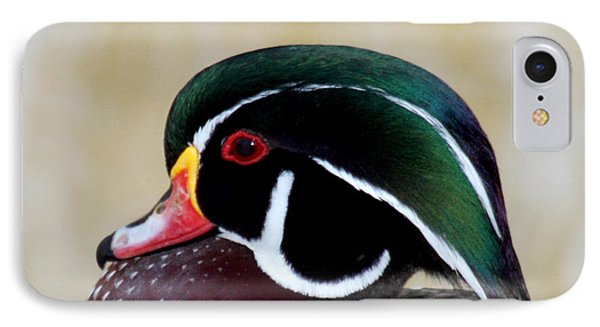 IPhone Case featuring the photograph Wood Duck 1 by Bob and Jan Shriner