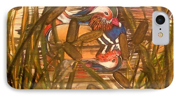 Wood Duck At Peace IPhone Case