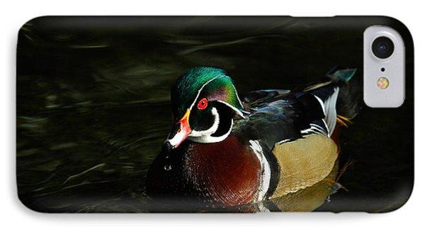 Wood Duck Drip Phone Case by Steve McKinzie