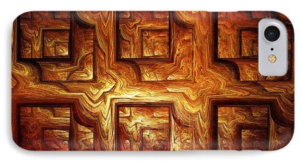 Wood Panel IPhone Case