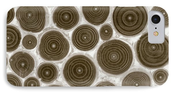 Wood Rings II IPhone Case by Cora Niele