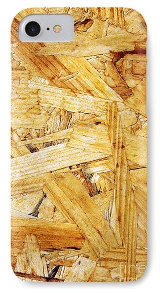 Wood Splinters Background IPhone Case